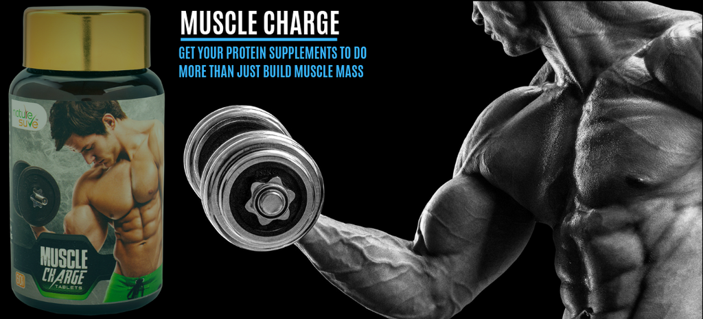 Get your protein supplements to do more than just build muscle mass, naturally