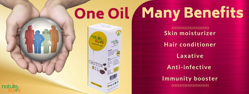 Nature Sure Castor Oil (Arandi Tail) offers numerous benefits