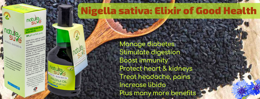 Nature Sure Kalonji (Blackseed) Oil - with goodness of Nigella sativa