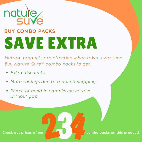 Buy Nature Sure Combos, Save Extra Discounts