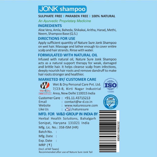 Nature Sure Jonk Shampoo