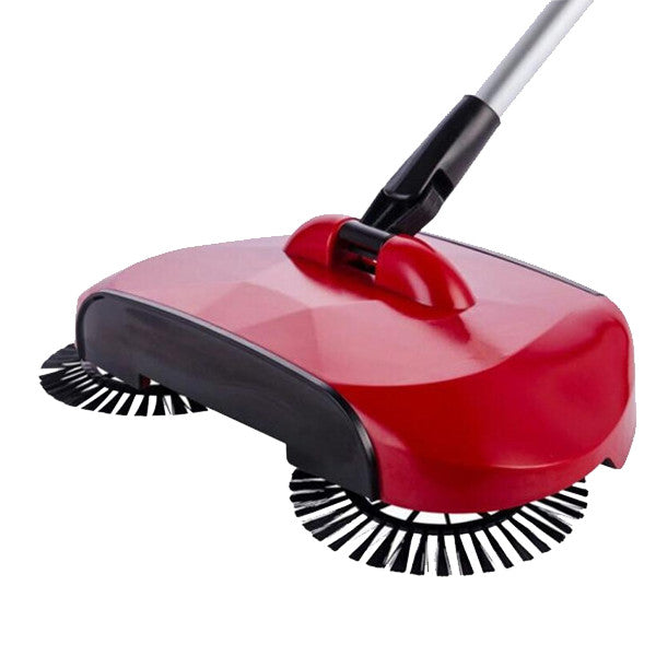 Floor Sweeper With Rotating Brushes