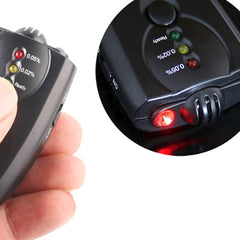 Mini Alcohol Breathalyzer with Flashlight and Key Chain