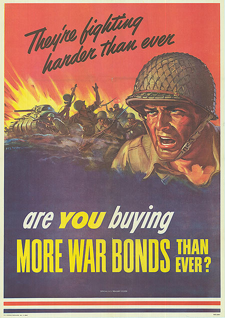 War Bond - They're fighting harder than ever