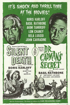 Silent Death and Dr. Cadman's Secret
