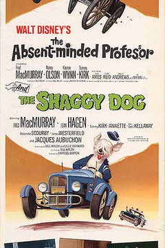 Absent Minded Professor and Shaggy Dog