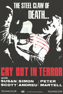 Cry out in terror