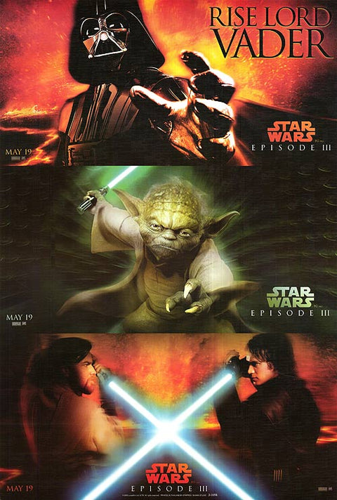 Star Wars Episode Iii Revenge Of The Sith Movieposters Com
