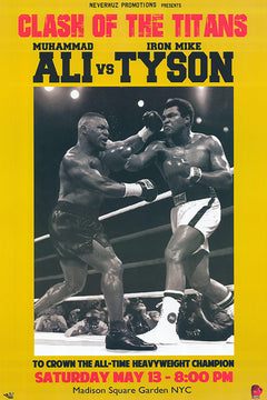 Muhammad Ali VS. Mike Tyson
