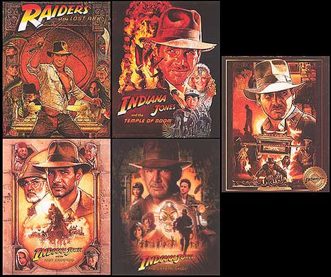 Indiana Jones  Collectible Card set