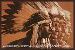 Indian- Cree Indian Prophecy