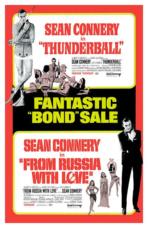 Thunderball and From Russia With Love