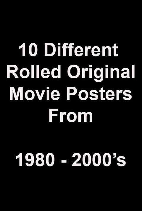 10 various posters