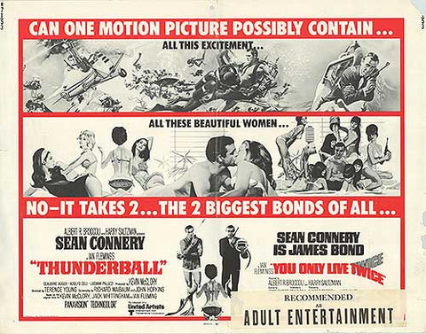 Thunderball and You Only Live Twice