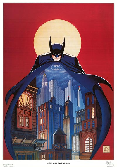Batman - Night vigil over Gotham