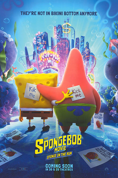 Spongebob Movie: Sponge on the Run
