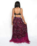 The 'Strawberry Fields' Wrap Skirt