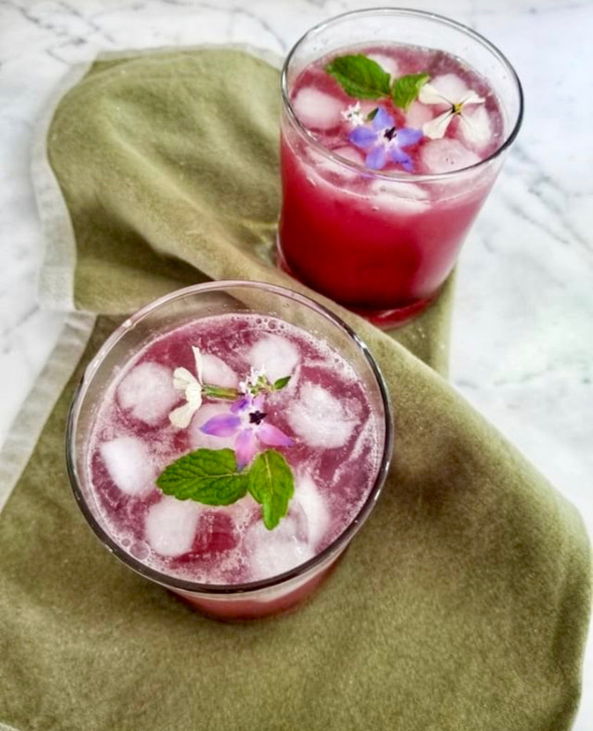 A Gourmet Twist on Sparkling Lemonade