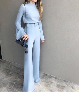 Alice Blue Jumpsuit