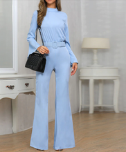 Load image into Gallery viewer, Alice Blue Jumpsuit