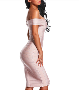 Off Shoulder Bodycon