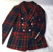 Load image into Gallery viewer, Red Plaid Jacket