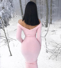 Load image into Gallery viewer, Alicia Ribbed Winter dress