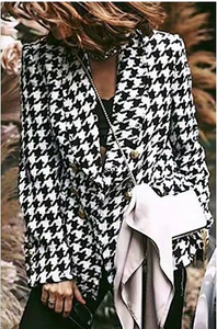 Black and White Tweed