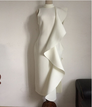 Load image into Gallery viewer, Halter neck Bodycon with side ruffle