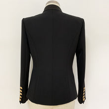 Load image into Gallery viewer, Single Button Satin Collar Blazer