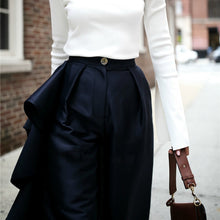 Load image into Gallery viewer, Ruffles High Waist Palazzo  Wide Leg Trousers