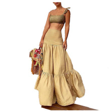 Load image into Gallery viewer, Bohemian  Maxi Skirt Set