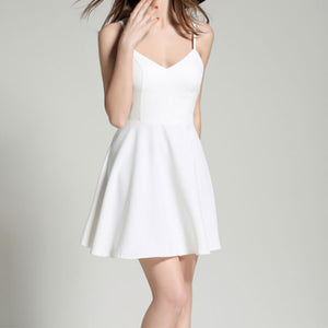 Angel Wings  Casual Slim Backless Beach Dress
