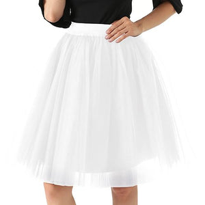 Puffy 5 Layer 60CM  Tulle Skirt