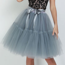 Load image into Gallery viewer, Petticoat 5 Layers 60cm Vintage Tutu Tulle Skirt