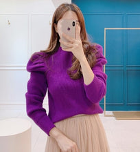 Load image into Gallery viewer, Long Puff Sleeve Pullover