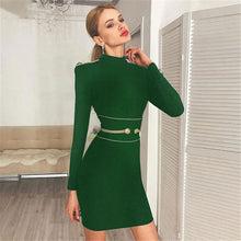 Load image into Gallery viewer, O Neck Bodycon Evening Party Dresses