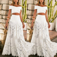 Load image into Gallery viewer, Boho Style Three-Piece Set Lace