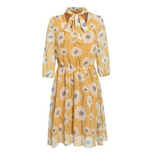 Load image into Gallery viewer, Vintage Floral Print Boho Chic Dress