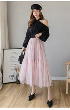 Load image into Gallery viewer, Princess Ball  Puff Vintage Lolita Jupe Mesh Skirt