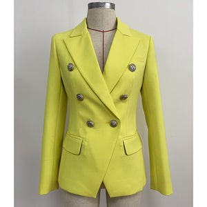 Iris Yellow Blazer