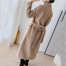 Load image into Gallery viewer, High Quality Double-faced cashmere Trench  coat