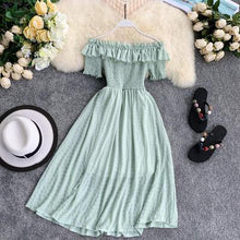 Load image into Gallery viewer, Ximena Vintage Summer Dress