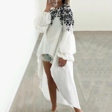 Load image into Gallery viewer, Stylish Asymmetrical Tunic Shirt
