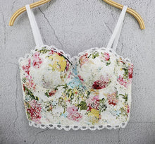 Load image into Gallery viewer, She'sModa  Sweet Floral Lace Bralet  Bustier Bra