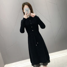 Load image into Gallery viewer, Long  Pullovers  Warm  Knitted Sweater Dress
