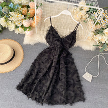 Load image into Gallery viewer, Sweet Elegant Fluffy  Backless Princess Lace Dress