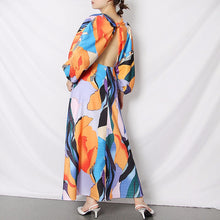 Load image into Gallery viewer, Casual Print Summer Dress