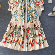 Load image into Gallery viewer, Vintage Print Dress