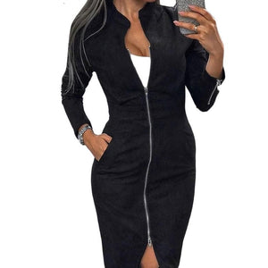 Vinatage Zippers Dress